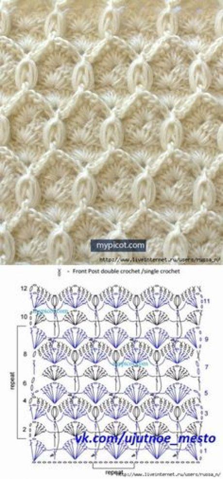 1000+ best Образцы узоров схемы images on Pinterest | Crochet ...