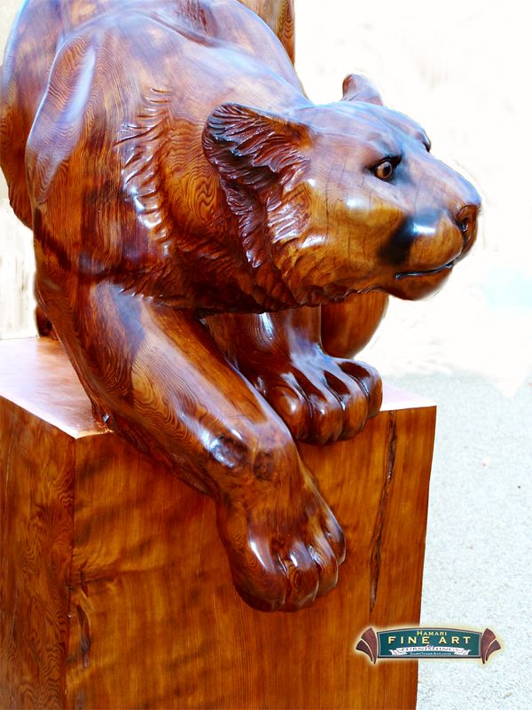 Best carving cats images on pinterest carved wood
