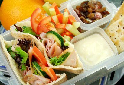 La boîte à lunch revue et corrigée par une nutritionniste.