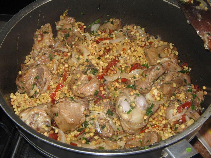 Non solo Cucine Isolane: Fregola sarda con agnello