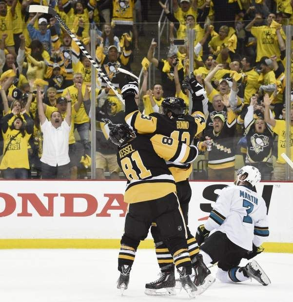 May 30, 2016 — Stanley Cup  Final: Penguins 3, Sharks 2 (Photo: Chaz Palla     Tribune-Review)