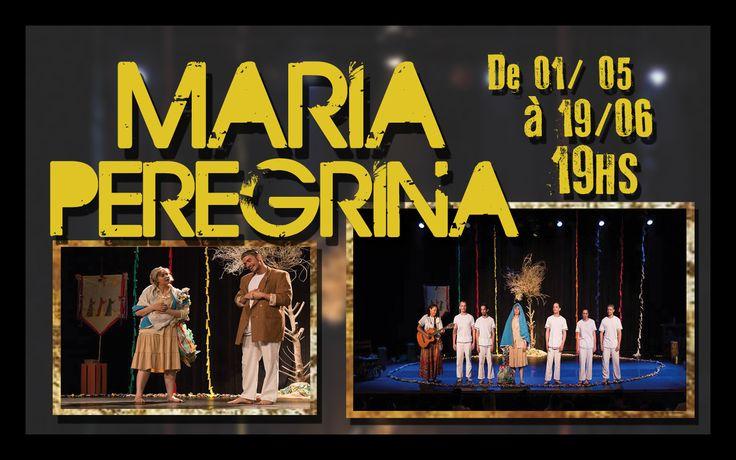 Vamos prestigiar nosso colega de trabalho Wilber, que participa da encenação da peça teatral Maria Peregrina