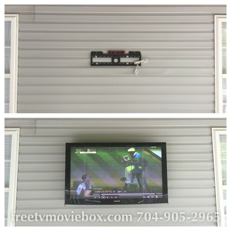 43 best Outdoor TV Wall Mounting images on Pinterest ...