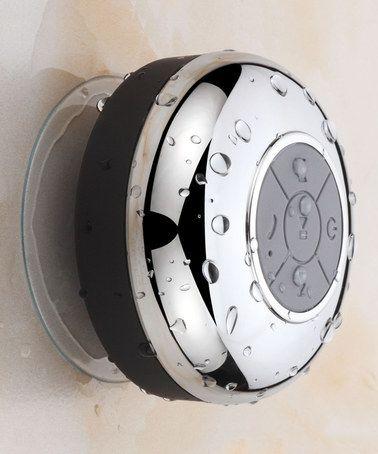 Look at this #zulilyfind! Chrome Bluetooth Shower Speaker #zulilyfinds