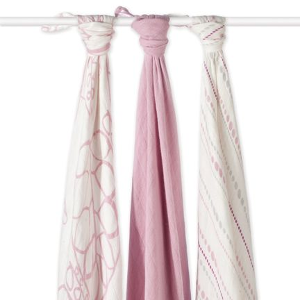 Tranquility Bamboo Swaddles Set of 3 | Aden + Anais