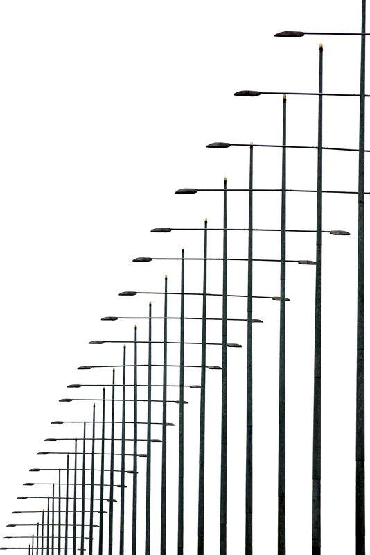 Photograph Light Poles by Giorgio Karayiannis on 500px