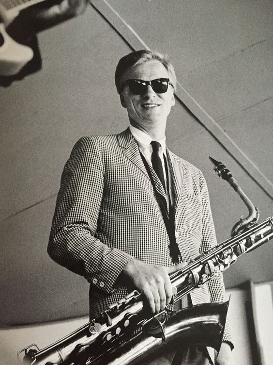 """regattasandreppties: """" Gerry Mulligan at the Newport Jazz Festival Me: Charlie, is that one of your jackets? Charlie: Yeah, probably. """""""