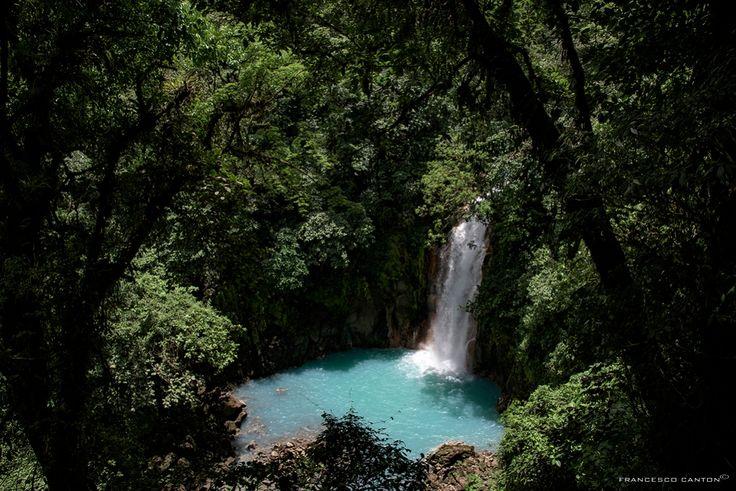 cascata del rio celeste - Tenorio Costa Rica