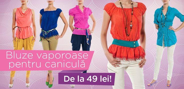 Şi, şi, le-aţi văzut? 49, 59, 69 lei. Online, aici: http://www.tinar.ro/topuri.html Spor la shopping şi zâmbete!