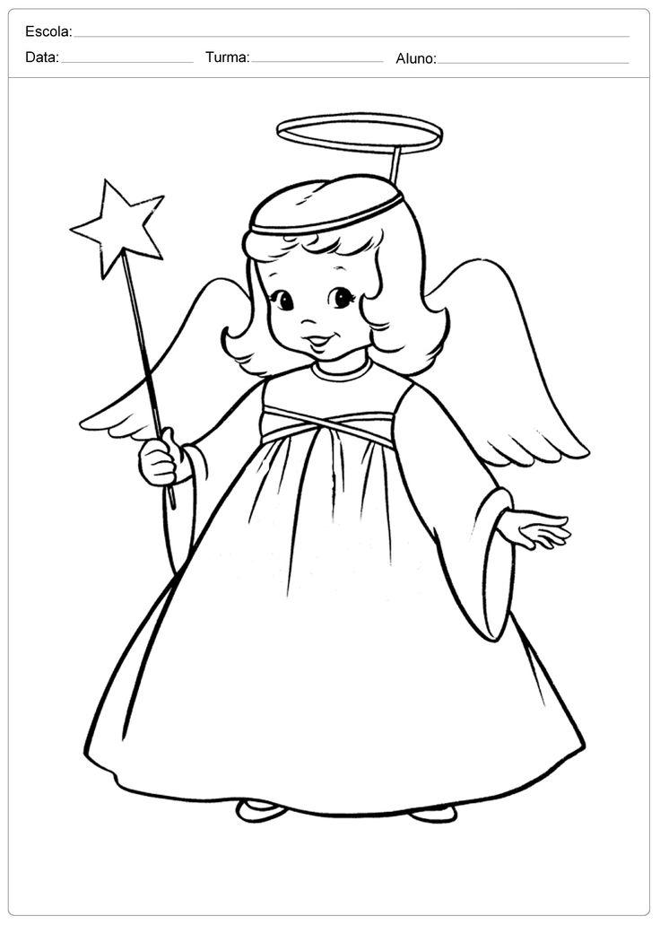 Pin Do A Mariana Matias Em Desenhos Para Pintar: Mais De 25 Ideias únicas De Desenhos Natalinos No