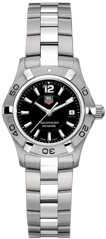 Tag Heuer Aquaracer 27mm Ladies Wristwatch Model: WAF1410.BA0823