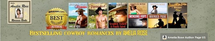 Fan of contemporary cowboy romance with a twist of suspense.Checkout Amelia Rose on Youtube you won't be able to put her books down!