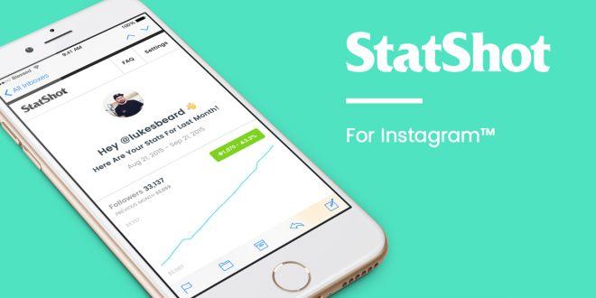 StatShot: Estadísticas de Instagram en tu correo personal