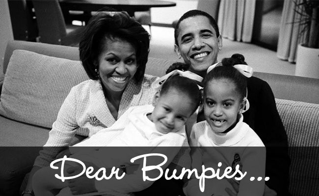 A Message from Michelle Obama for The Bump Moms (Really!)