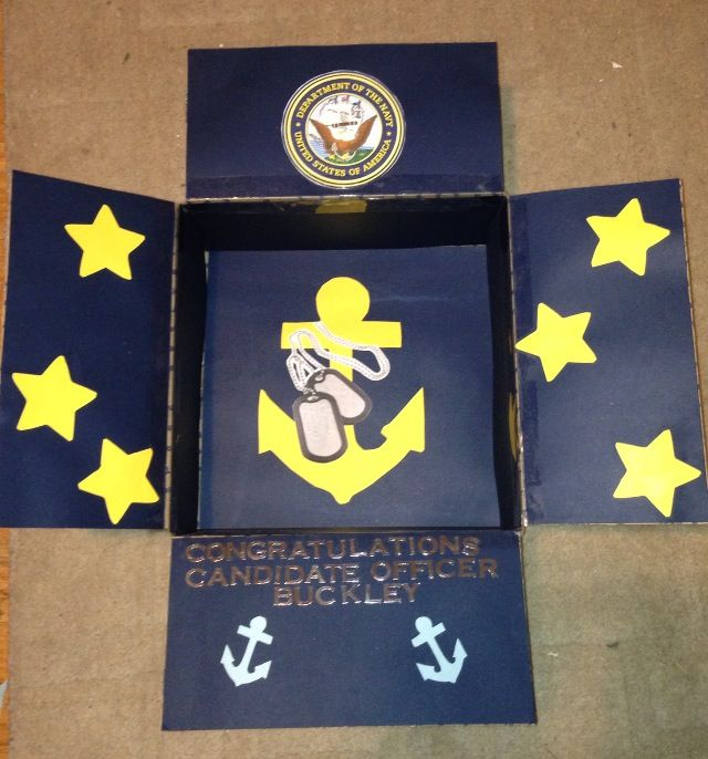 umm so i just found out about candio (candidate officer) boxes to send to ocs in the 9th week... this one's nice. put in some pics too. add this to my to-do list.