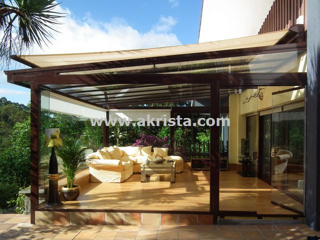M s de 1000 ideas sobre cortinas transparentes en for Cubiertas transparentes para techos