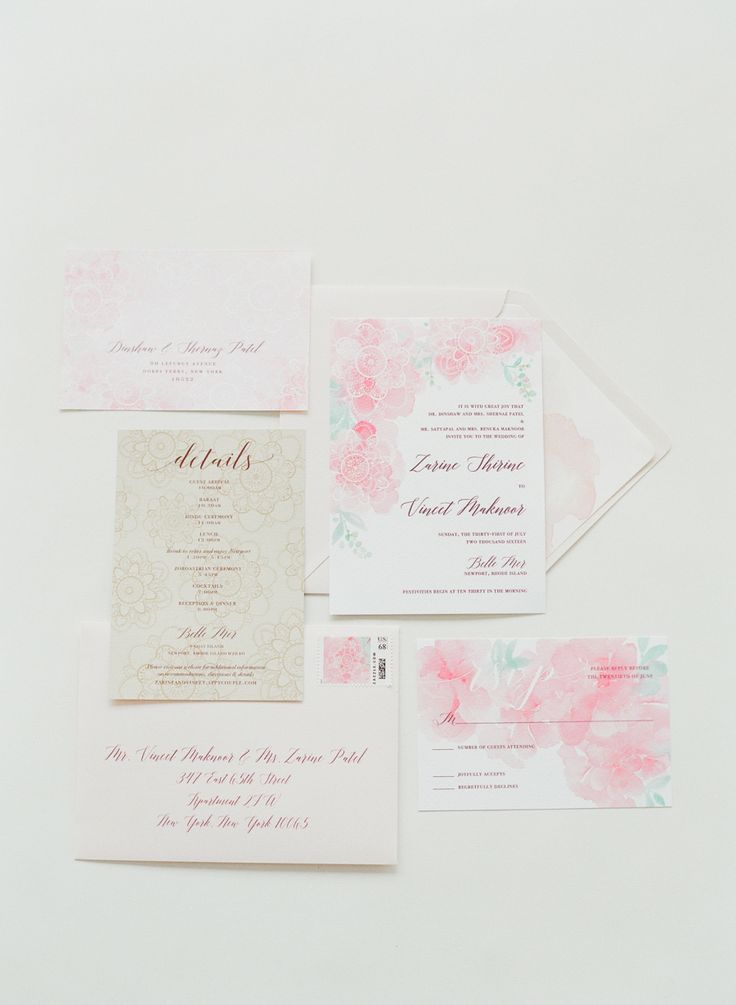 sample wedding invitation email wording to colleagues%0A Modern Indian Wedding Inspired by a European Garden