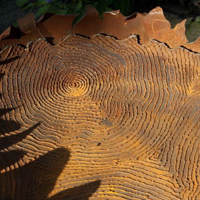 Handmade fire bowl 'Suntree' | For sale at Lebesque Design online shop