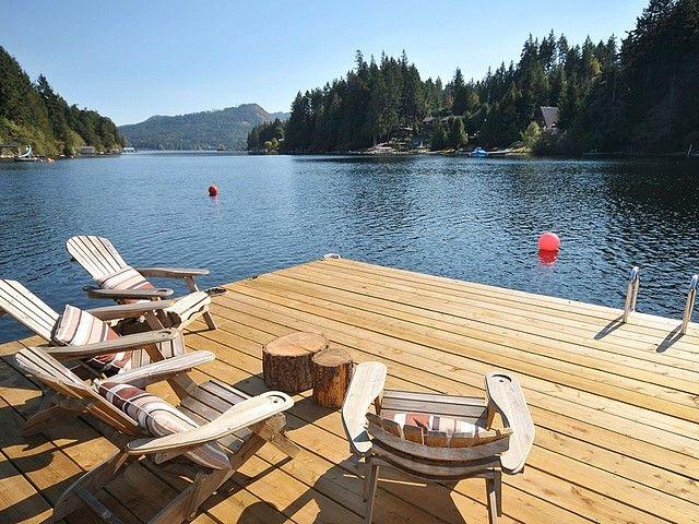 Shawnigan Lake cabin, Vancouver Island
