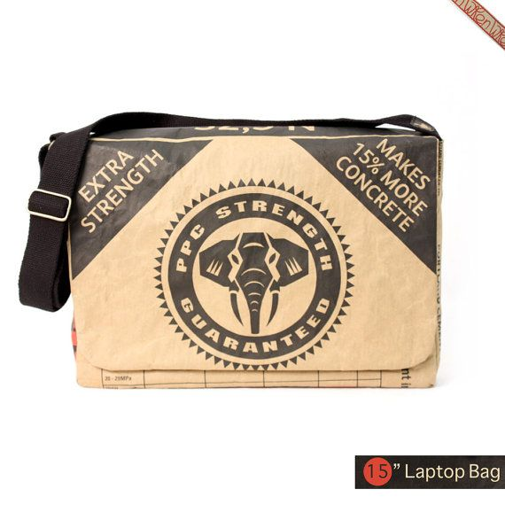 15 PPC Cement Laptop Bag  OPC new packaging by thewren on Etsy, $76.00