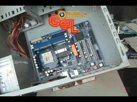 Ensamblaje y reparacion de Computadoras (part 1/ 4) HQ - YouTube