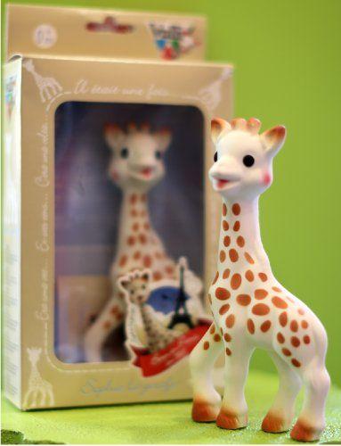 Vulli Sophie the Giraffe Teether, Brown/White Vulli http://www.amazon.com/dp/B000IDSLOG/ref=cm_sw_r_pi_dp_It3svb0ZE0W08