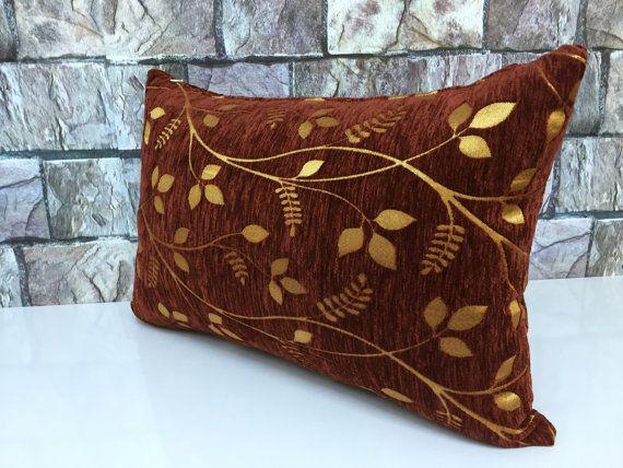 taracota color velvet lumbar cushion cover with by laviaart