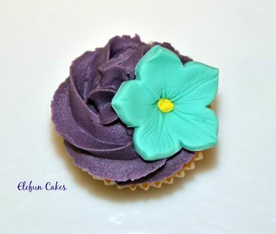 Flowers mini Cupcakes