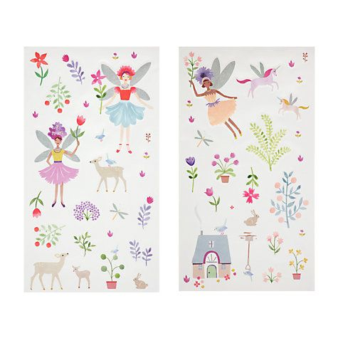 Buy little home at John Lewis Country Fairies Wall Stickers Online at johnlewis.com
