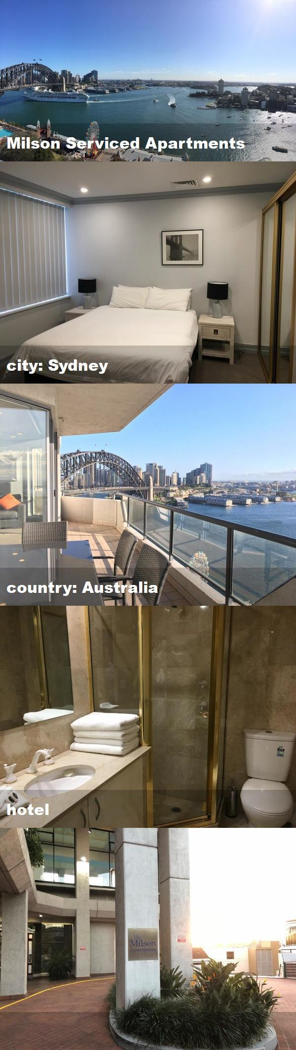Milson Serviced Apartments, city: Sydney, country ...