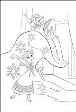 Lots fo coloring pages Frozen