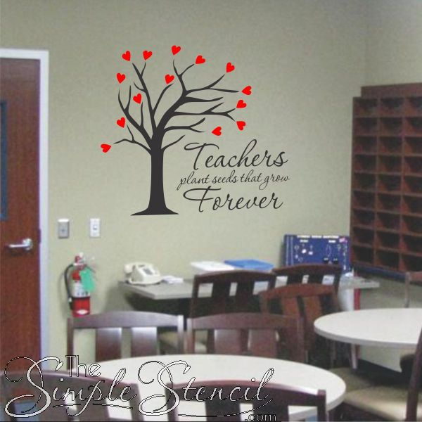 Best Teachers Lounge Or Classroom Office Ideas Images On Pinterest - Custom vinyl wall decals sayings for office