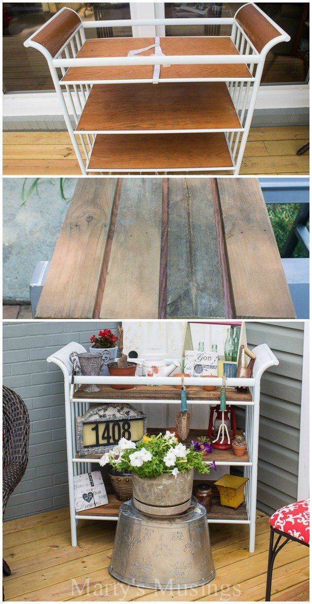 15 Genius Ways to Repurpose Changing Tables - One Crazy House