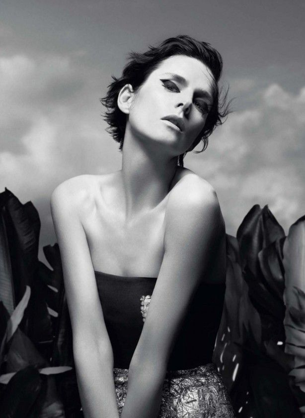 Christian Dior S/S 2014 |  Stella Tennant  por Willy Vanderperre  [Preview]
