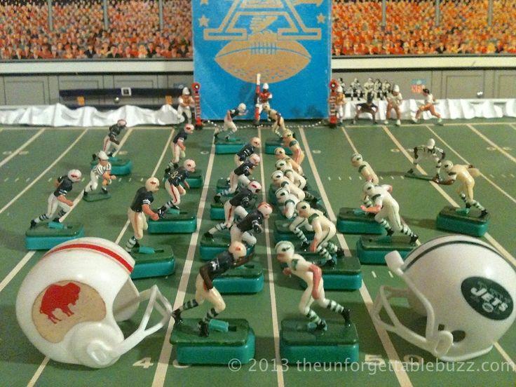 1968 AFL Tudor Electric Football Bills and Jets Classic