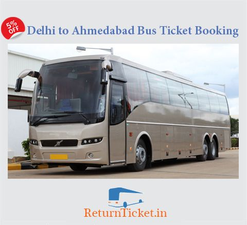 Book Bus Ticket online from www.returnticket.in at lowest price.