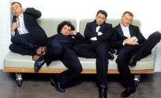 Jeremy Dyson, Mark Gatiss, Steve Pemberton, and Reece Shearsmith -
