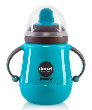 Turquoise Dood 9-Oz. Insulated Drinking Cup by Joovy #zulily #zulilyfinds