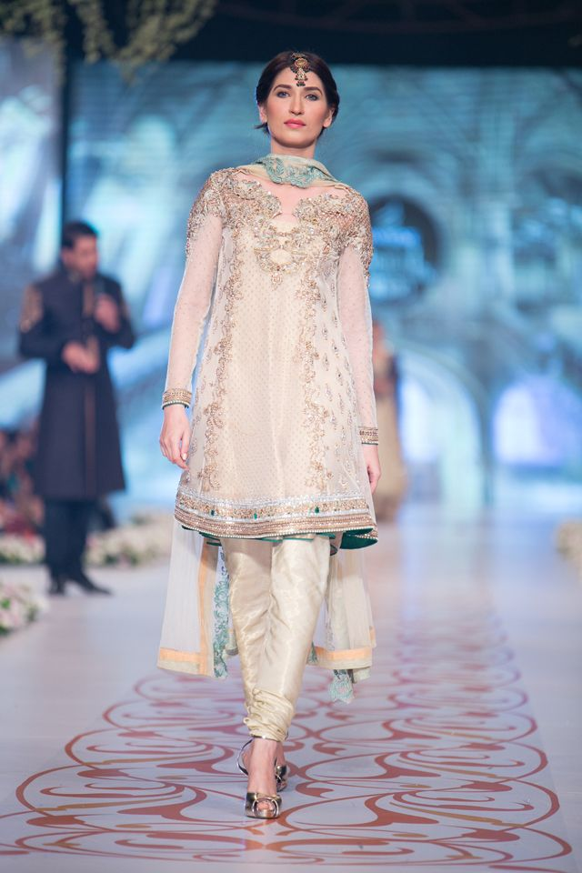 Asifa and Nabeel Bridal Collection at PBCW 2014 DAY 3
