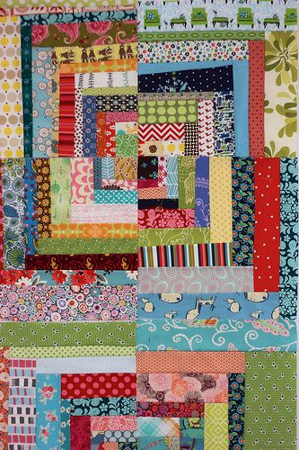 What We're Making! Scrapper's Delight from Sunday Morning Quilts | Pink Chalk Studio