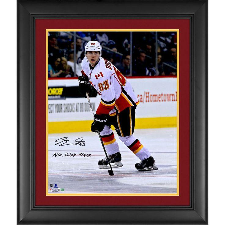 Sam Calgary Flames Fanatics Authentic Framed