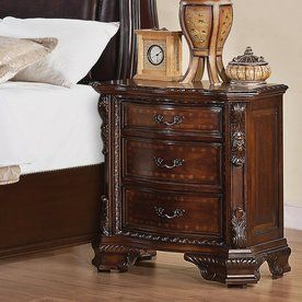 Coaster Fine Furniture Maddison Brown Cherry Nightstand 202262
