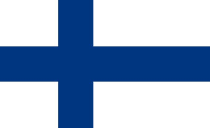 Flag of Finland :   This is the national flag of Finland, a country in Northern Europe. Want to learn more? Check out these Finland maps.