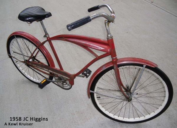 Vintage 1958 JC Higgins bicycle | craigslist addiction ...
