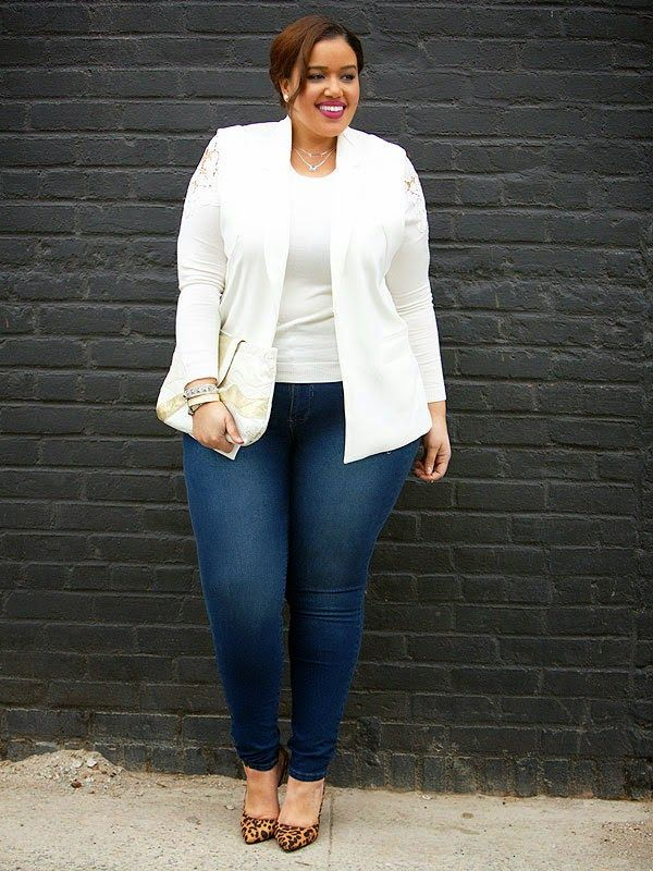 Plus Size Fashion for Women - Inside Allie's World: Winter White