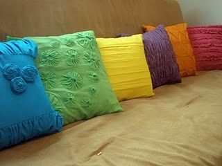 Pillows galore - Tutorials for all of these pillows