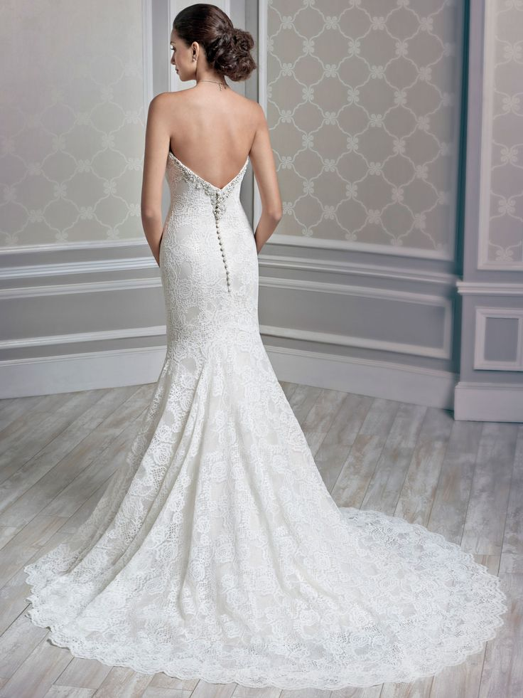 Style 1595 bridal gowns wedding dresses kenneth for Private label wedding dresses