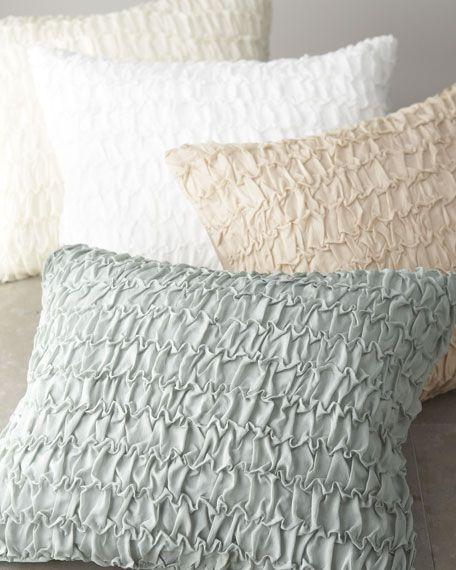 donna karan textured pillows from