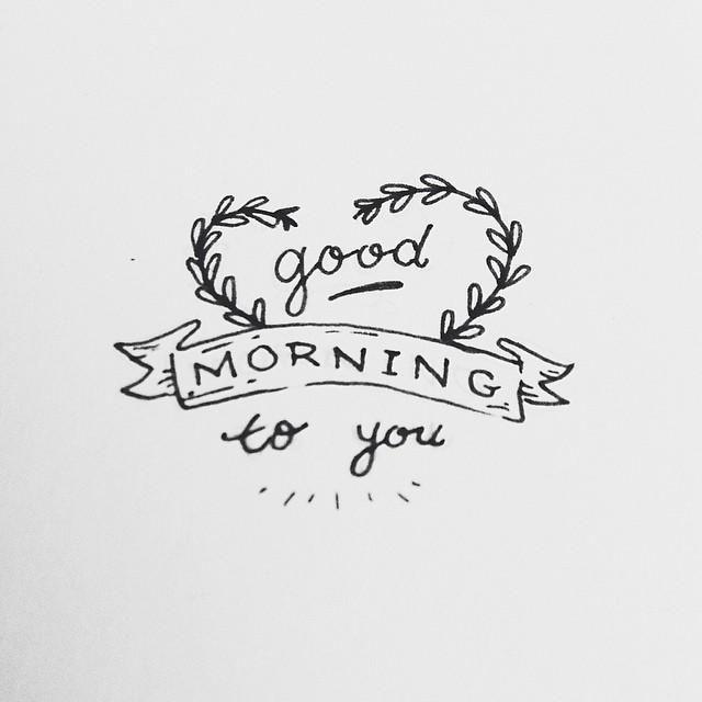 Mornin, sunshine. <3