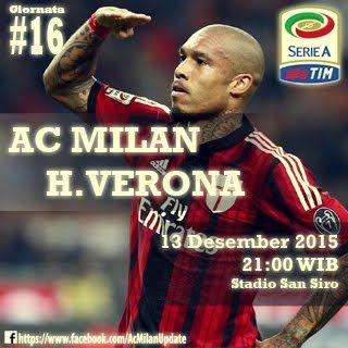 AC milan vs Verona 13 dec 2015